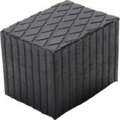 Rubber Pad | for Auto Lifts | 160 x 120 x 120 mm (6482) - 6482 salidzini kurpirkt cenas