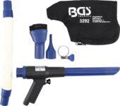 Suction and Air Blow Gun | reversible | 9 pcs. (3292) - 3292 salidzini kurpirkt cenas